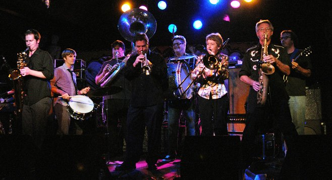 Photo of The Euphoria Brass Band