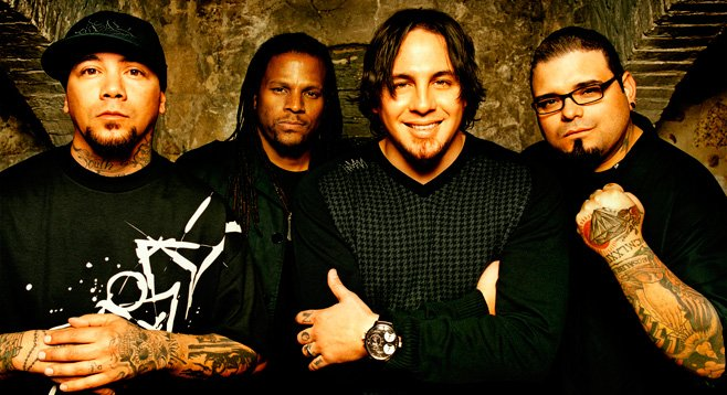 Photo of P.O.D.