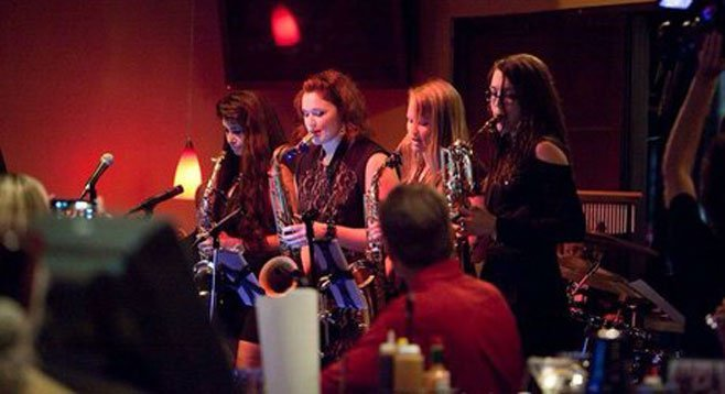 Photo of The Saxations