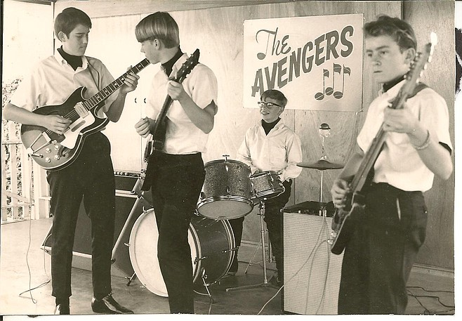 Photo of The Avengers (aka the Contrasts)