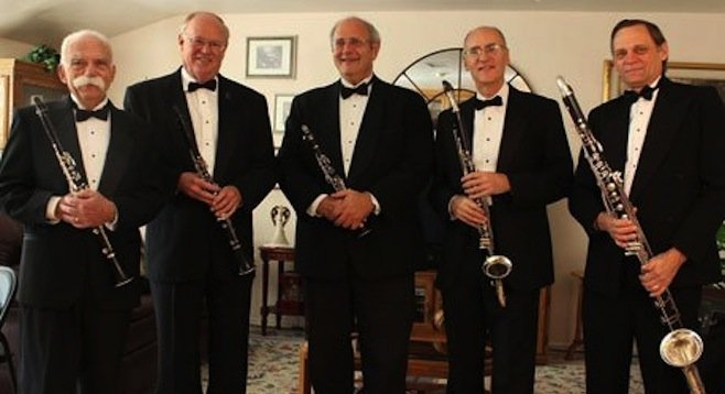 Photo of The San Diego Clarinet Quintet