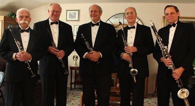 Photo of The San Diego Clarinet Quintet