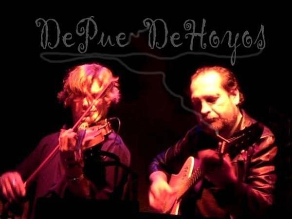 Photo of Alex DePue and Miguel De Hoyos