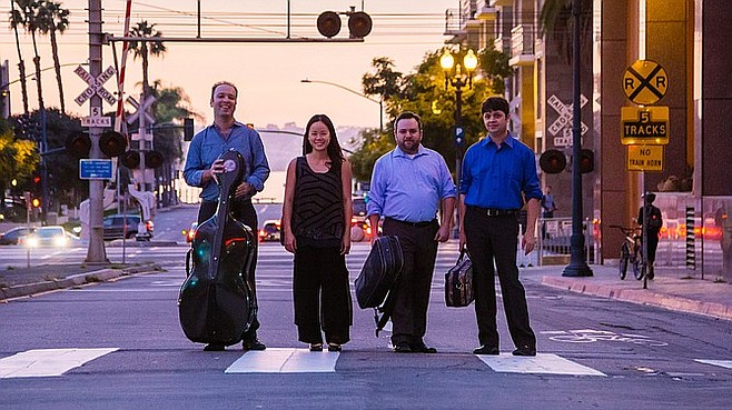 Photo of The Hausmann Quartet