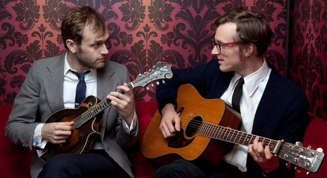 Photo of Chris Thile & Michael Daves