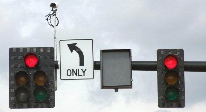 Nice San Diego Wants To Extend Red Light Camera Ticketing, Bid Document Reveals  | San Diego Reader