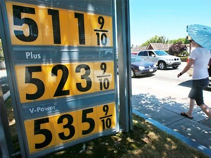 Gas Prices San Diego >> High Gas Prices To Dent Sd Growth San Diego Reader
