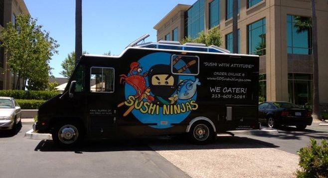 Ninjas Food Truck Twitter