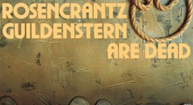 anagnorisis and existence rosencrantz and guildenstern Tom stoppard's play rosencrantz and guildenstern are review: 'rosencrantz and guildenstern are dead and existence the play opens with rosencrantz and.