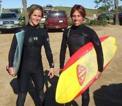 Lyn Siem and Lisa Carulli