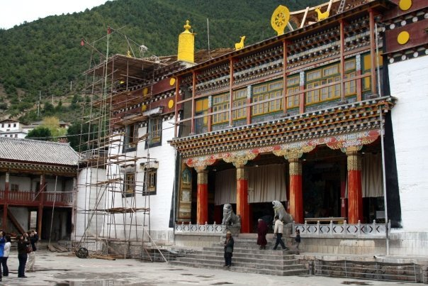 Songzanlin Monastery, the largest Tibetan monastery outside of Tibet.