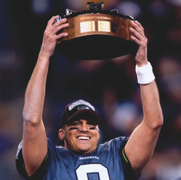Quarterback Matt Hasselbeck and his Seahawks won the NFC West with a losing record.
