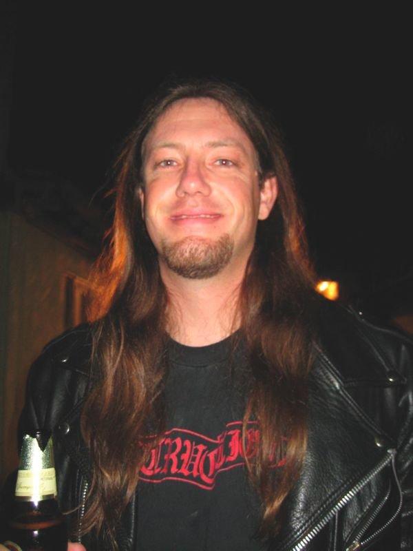 Trader in metal memorabilia, Brian Parker