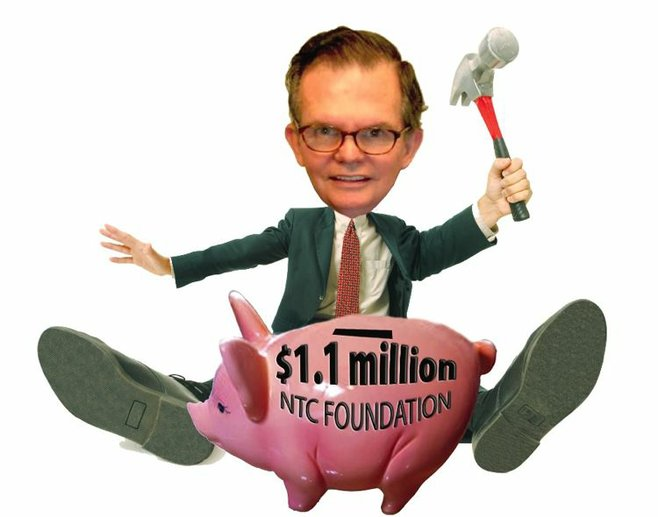 """County tax assessor Ernie Dronenburg forced the nonprofit NTC Foundation to pay taxes owed by its """"for-profit"""" subsidiary."""