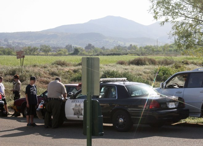 Four teens robbed four other teens at knifepoint in Santee.