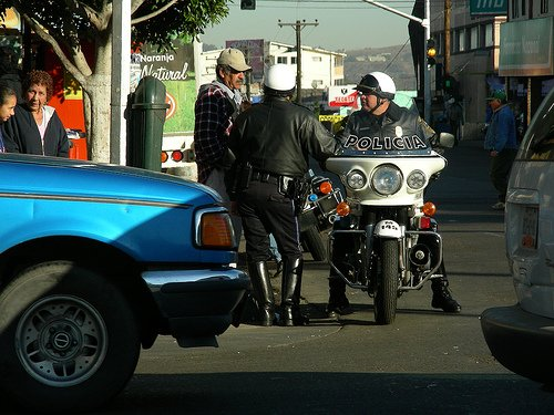Tijuana's downtown merchants say the shaking down of American motorists by police is killing tourism.