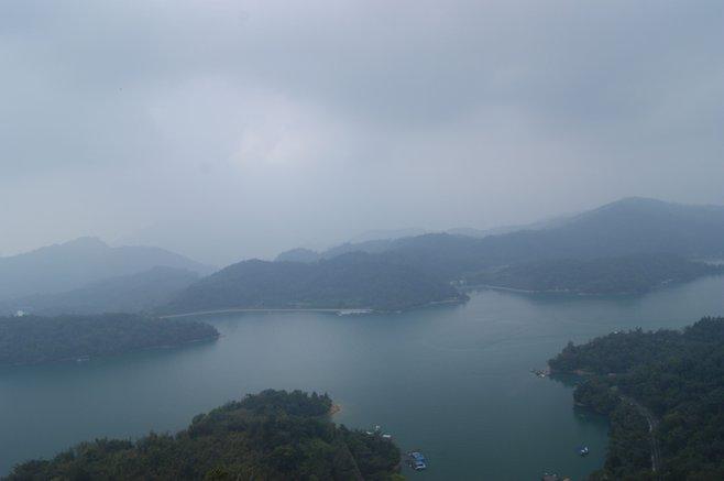 Pagoda view of Sun Moon Lake