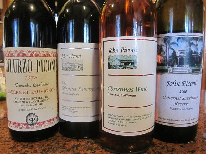 In the '70s and '80s, John Piconi helped Temecula become a legitimate wine region.