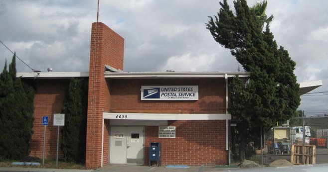 The postal service may close retail operations at this La Mesa annex.