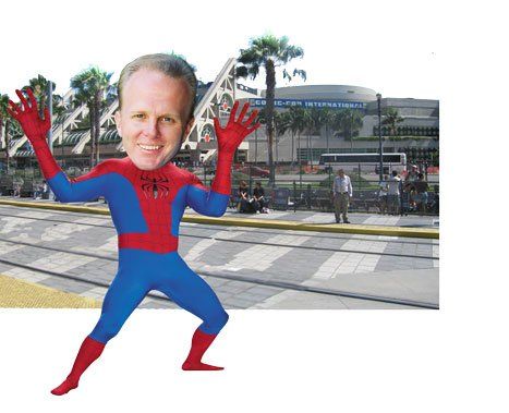 Kevin Faulconer is all ready to use his free ticket to Comic-Con.