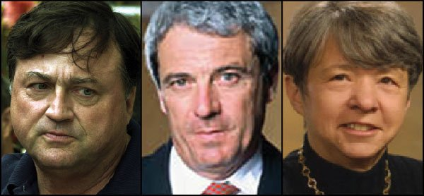 John Moores, Charles La Bella, and Mary Jo White