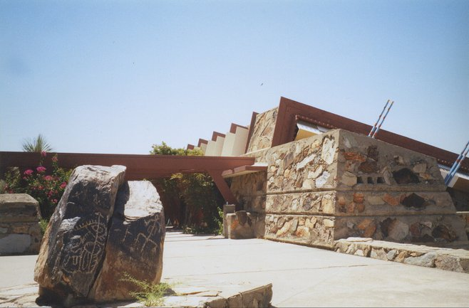 Taliesin West, Wright's desert masterpiece