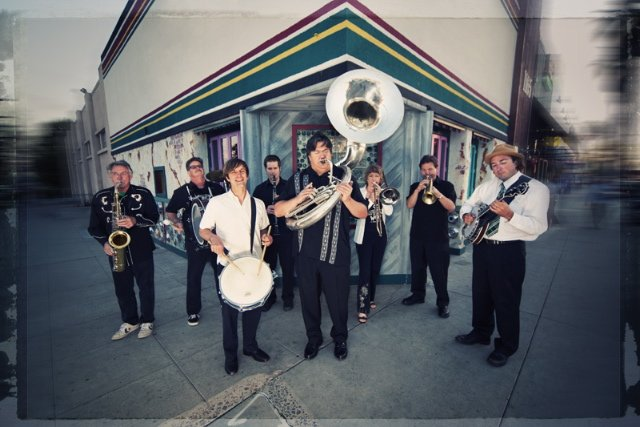 Euphoria Brass Band gets down to brass tracks.