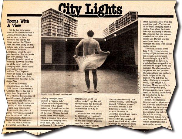 San Diego Reader, June 26, 1986