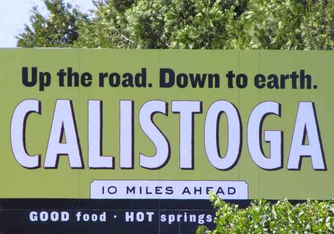 Welcome to Calistoga