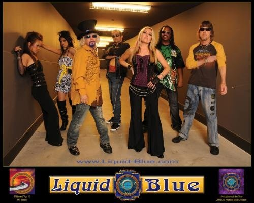 World's most-traveled band, Liquid Blue, got held up in Baja.