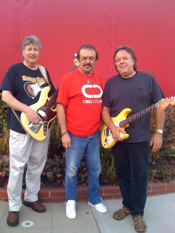 "Blitz Brother Richard Livoni (right) has ""Jimi-Jeff-Clapton syndrome."""
