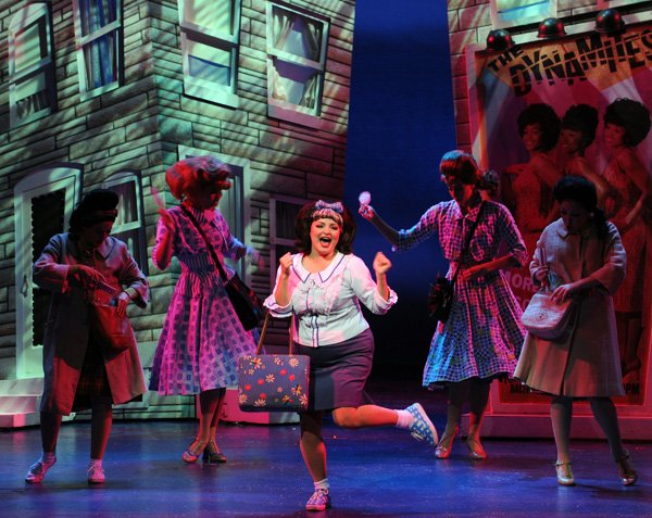 In Moonlight's Hairspray, the choreography re-creates those busy-hands, busy-feet dances.