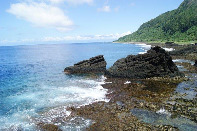 Green Island coastline