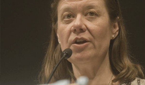 Kathi Anderson runs Survivors of Torture International, a refugee aid group that received a $271,000 federal grant.