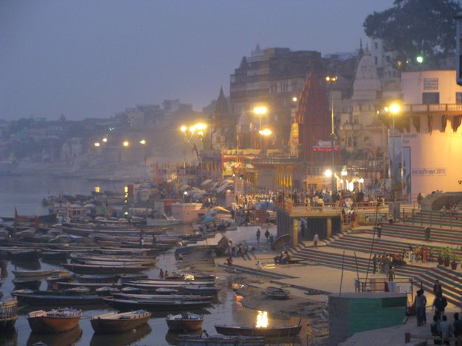 Holy waters of the Ganges, Varanasi