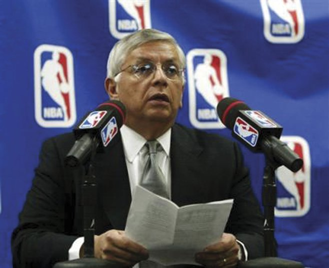 Commissioner David Stern cares about the upcoming NBA season, assuming there is one.