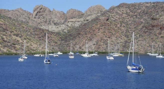 Bayfront near Puerto Escondido