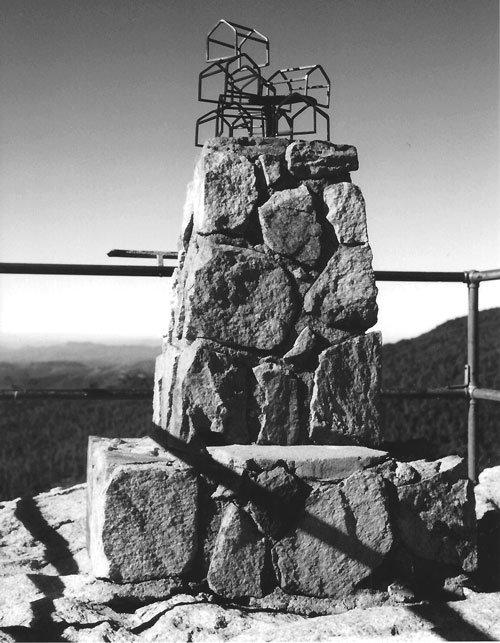 """Crying Wolf,"" atop Stonewall Peak"