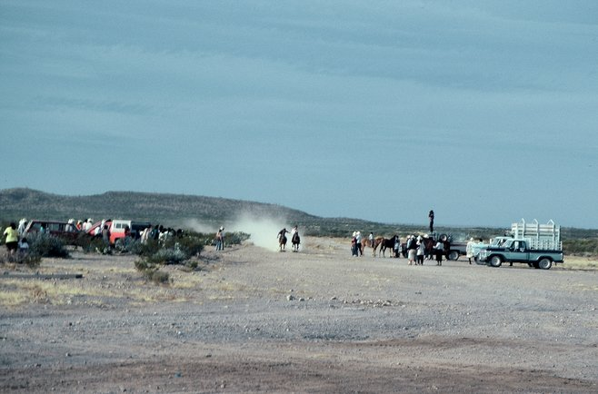 Chihuahuan fiesta: horse races in the desert