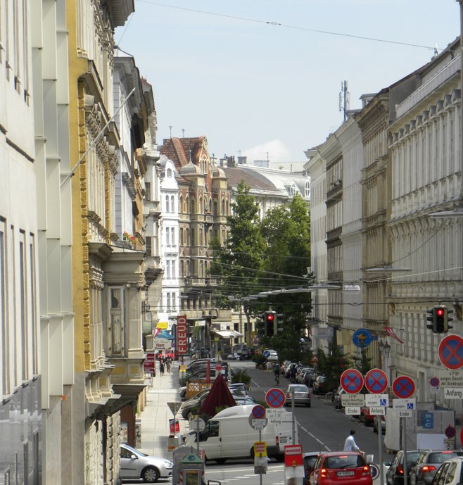 Vienna, view from Berggasse #19