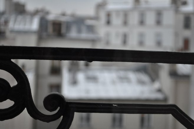 Apartment view in Paris
