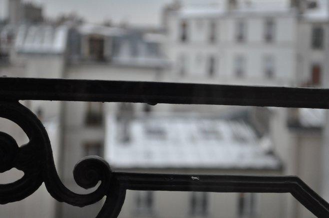 Apartment view in Paris