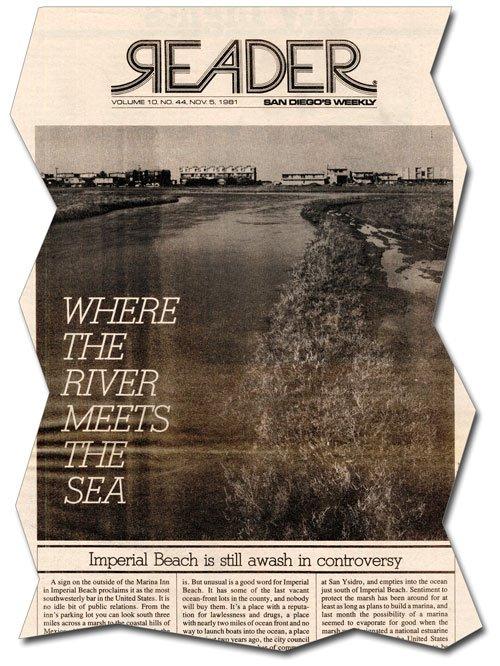 San Diego Reader, November 5, 1981