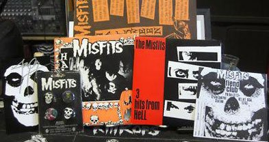 Justin Pearson's Misfits haul, scored from Danzig's jaded ex.