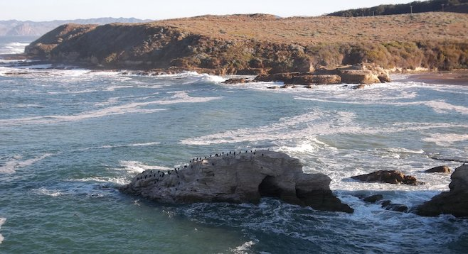View from Montaña de Oro State Park's Bluff Trail
