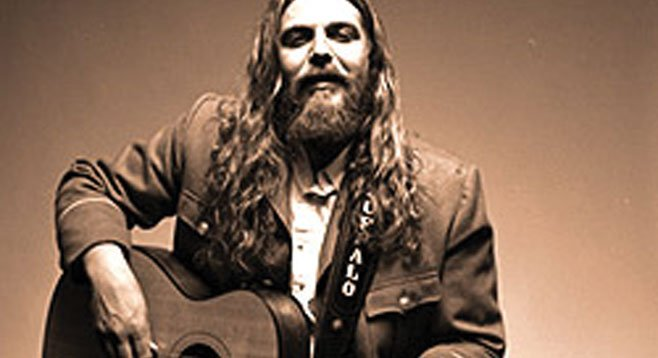The White Buffalo roams into Casbah Thursday night.