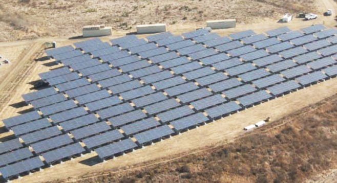 A Pentagon audit says taxpayers will lose $5.17 million invested in this Camp Pendleton solar energy installation.
