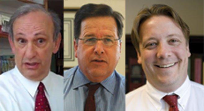 Richard Rider, Mike Aguirre, Walter Spath III