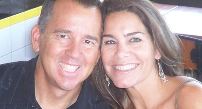 """Jeff Langley (with his wife Shelly) says, """"My main concern in San Diego is ambivalence."""""""