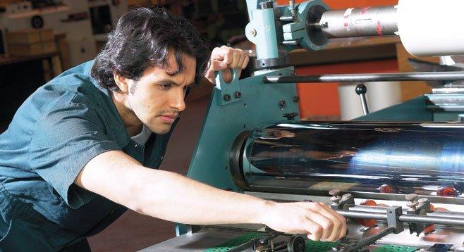 Manufacture a job.